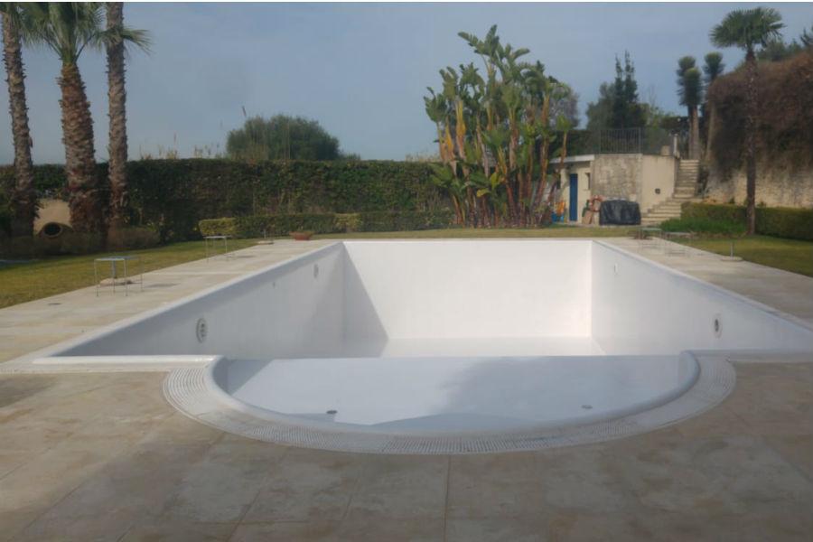 Resinatura piscina
